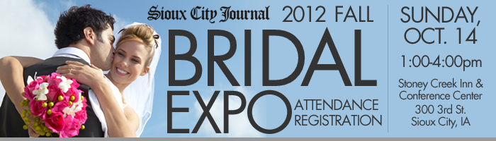2012 Fall Bridal Expo Attendance Registration Form